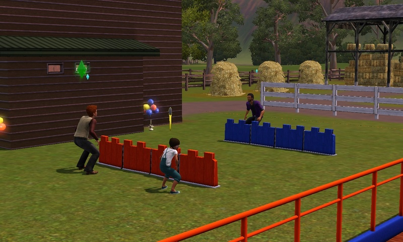 """[Challenge] Teens and Horses """"Sims 3"""" raconté par Vavaveau Screen32"""