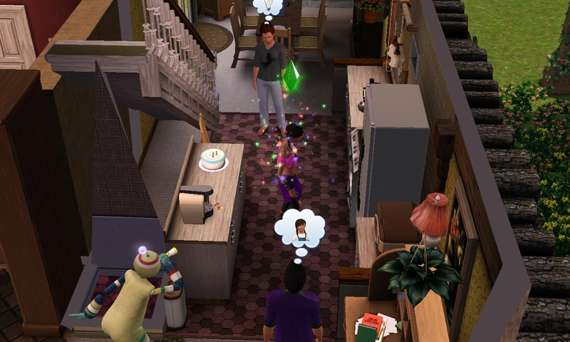 "[Challenge] Teens and Horses ""Sims 3"" - Page 3 Screen35"