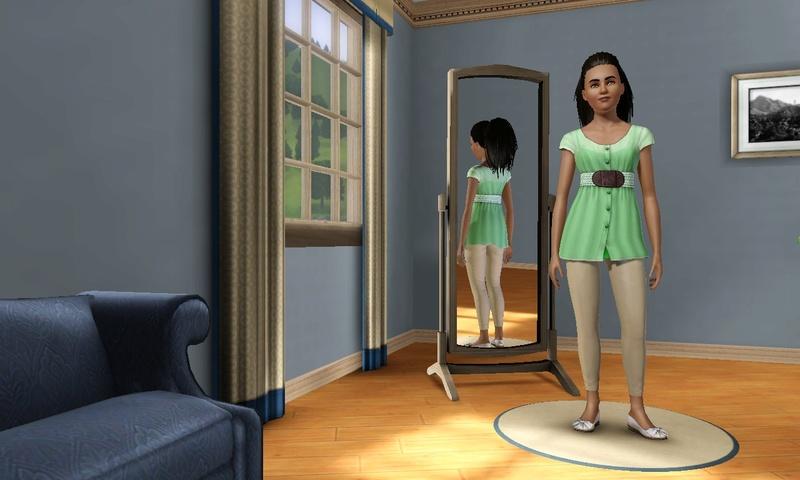 """[Challenge] Teens and Horses """"Sims 3"""" raconté par Vavaveau Screen36"""