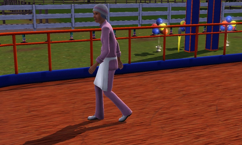 "[Challenge] Teens and Horses ""Sims 3"" - Page 3 Screen39"