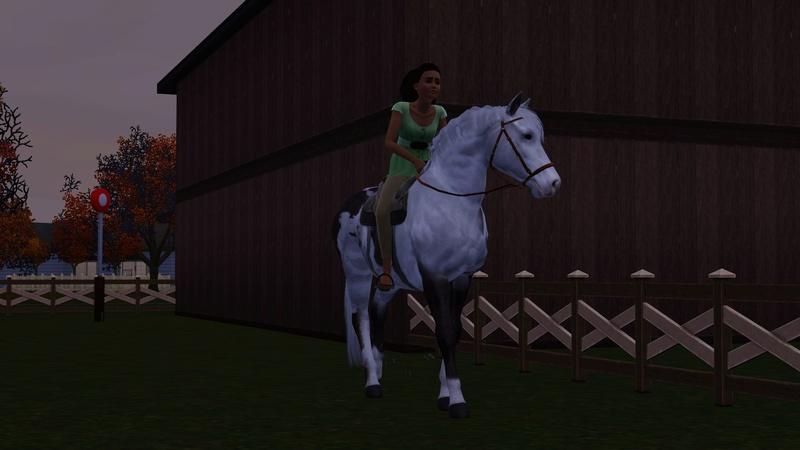 """[Challenge] Teens and Horses """"Sims 3"""" raconté par Vavaveau Screen40"""