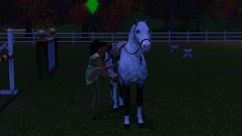 """[Challenge] Teens and Horses """"Sims 3"""" raconté par Vavaveau Screen41"""