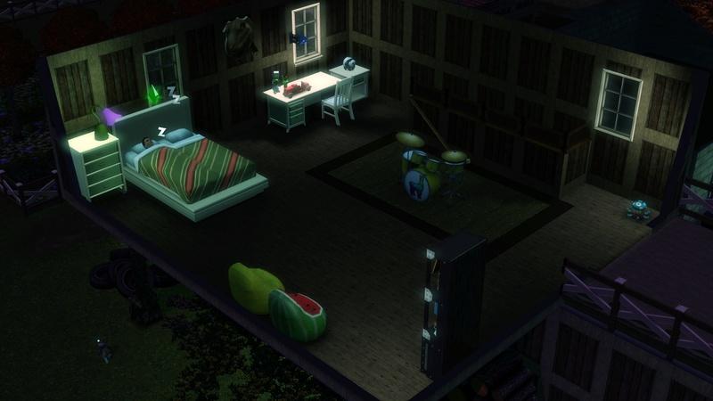 """[Challenge] Teens and Horses """"Sims 3"""" raconté par Vavaveau Screen43"""