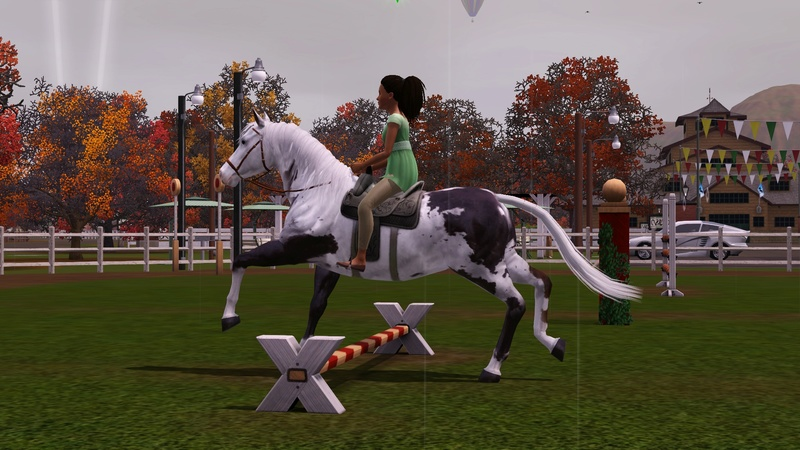 "[Challenge] Teens and Horses ""Sims 3"" - Page 3 Screen45"