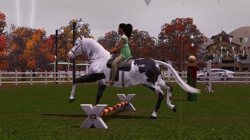 """[Challenge] Teens and Horses """"Sims 3"""" raconté par Vavaveau Screen45"""
