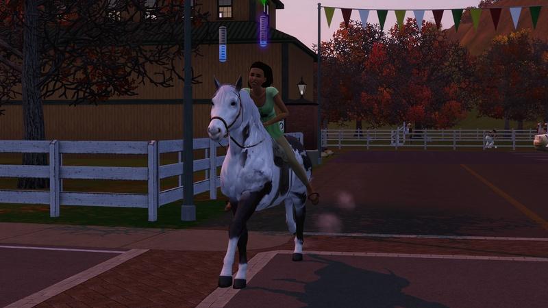 """[Challenge] Teens and Horses """"Sims 3"""" raconté par Vavaveau Screen46"""