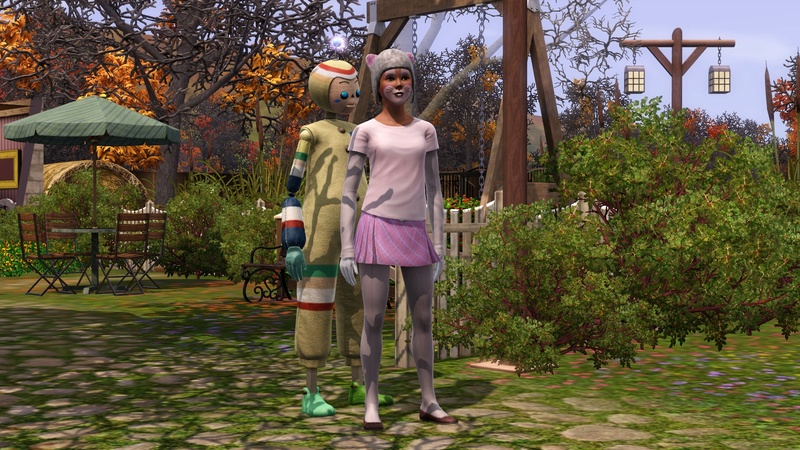 """[Challenge] Teens and Horses """"Sims 3"""" raconté par Vavaveau Screen47"""