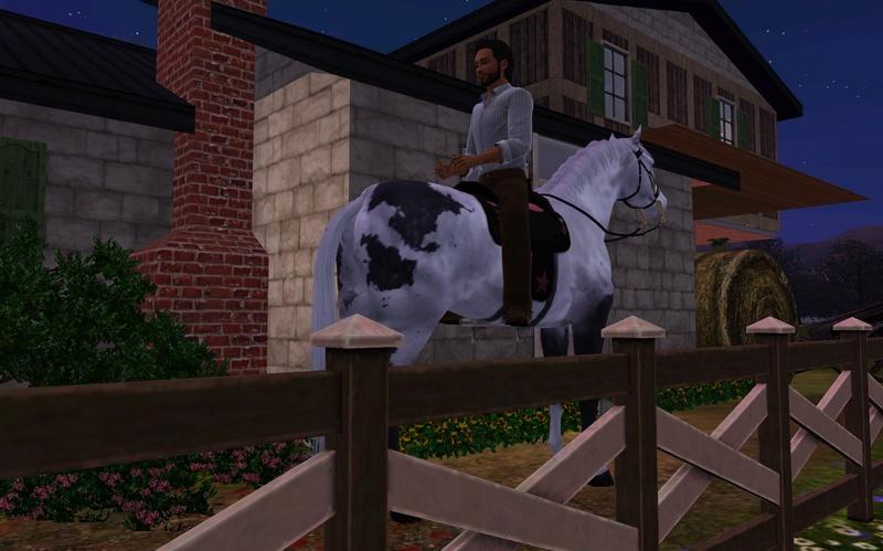 """[Challenge] Teens and Horses """"Sims 3"""" raconté par Vavaveau Screen55"""