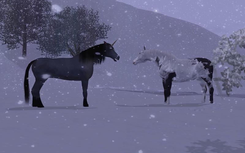 """[Challenge] Teens and Horses """"Sims 3"""" raconté par Vavaveau Screen60"""
