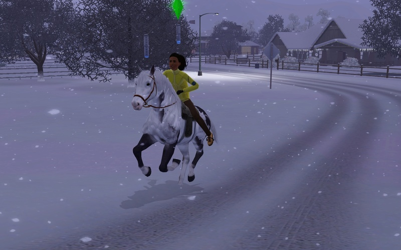 "[Challenge] Teens and Horses ""Sims 3"" - Page 4 Screen61"