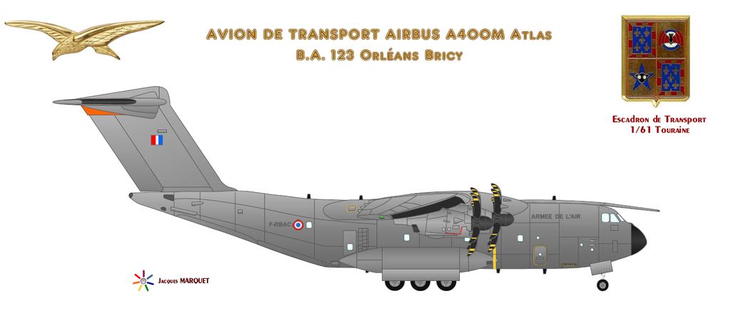 Avions de l'Aéronavale et autres Airbus12
