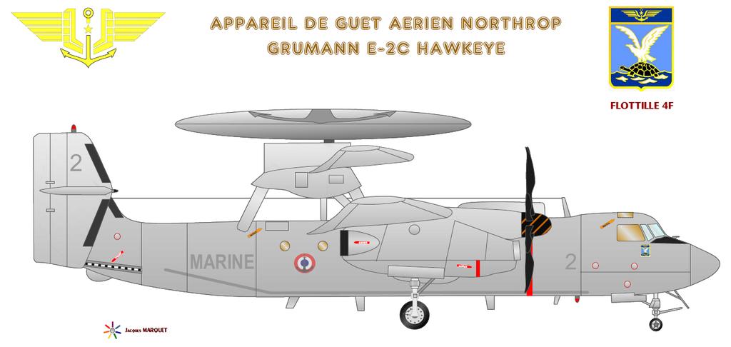 Avions de l'Aéronavale et autres E2-c_h10