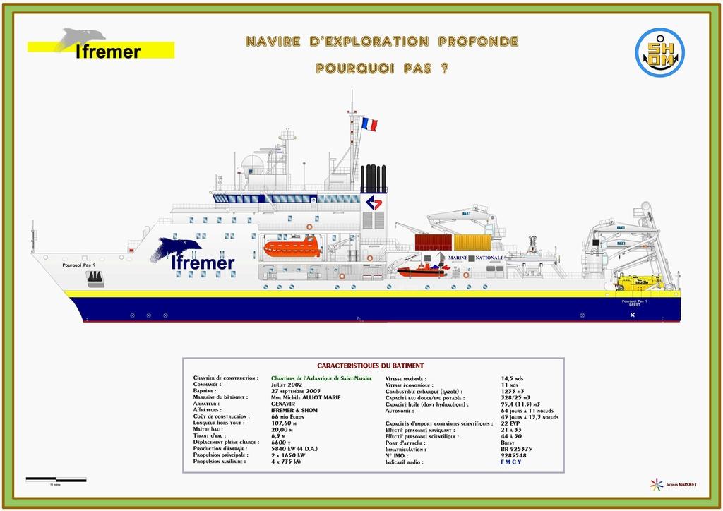 Bâtiments océanographiques & hydrographiques Pourqu13