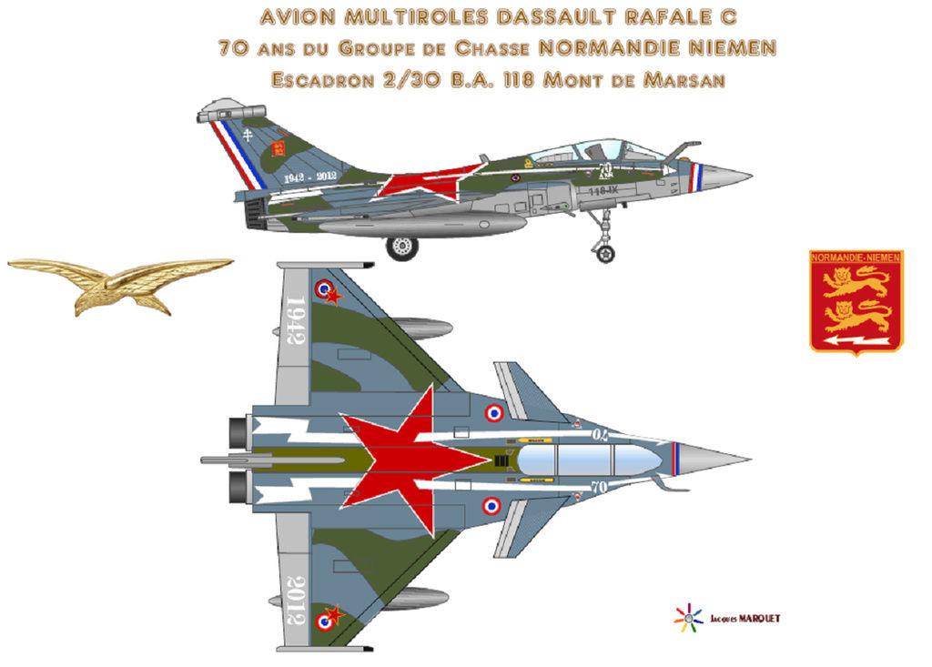 Avions de l'Aéronavale et autres Rafale11