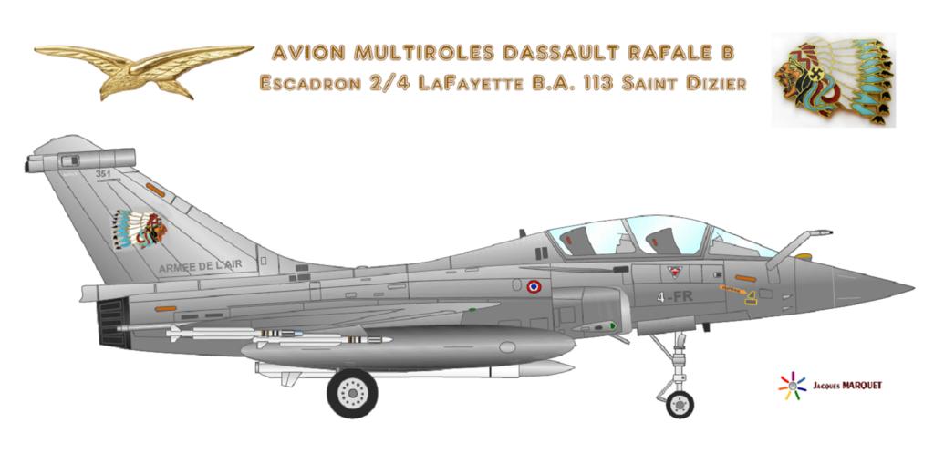 Avions de l'Aéronavale et autres Rafale12