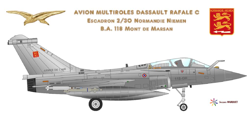 Avions de l'Aéronavale et autres Rafale13