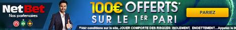 Netbet Sport 100€ Bonus