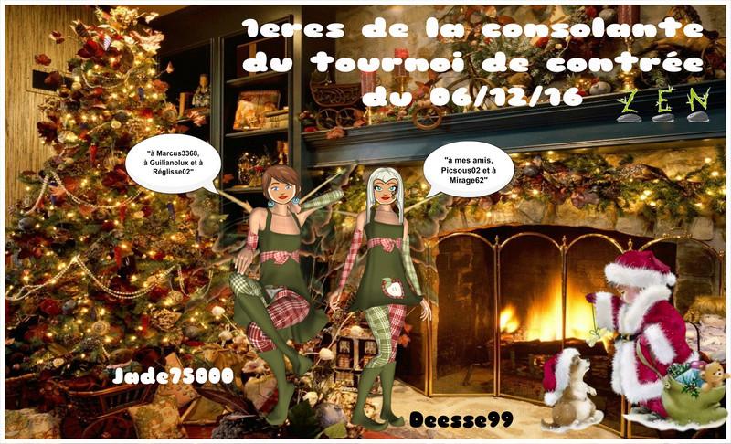 Deesse99 & Jade7500 1eres gagnantes de la consolante du 06/12/16 Trophe25