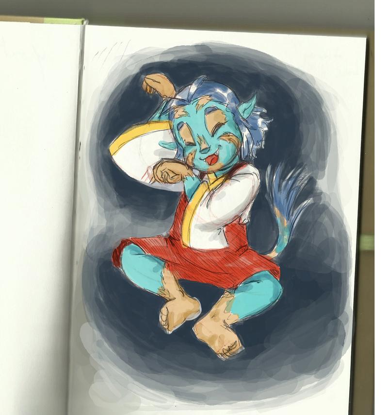 heuuu, je crois que ce sont mes dessins, de Moyo.... - Page 15 Lyra_010