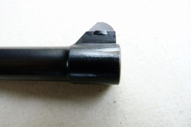 Les hausses et guidons des P 08 Lange Pistol. Guidon11