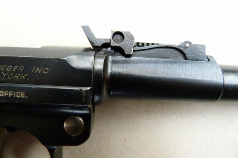 Les hausses et guidons des P 08 Lange Pistol. Hausse13