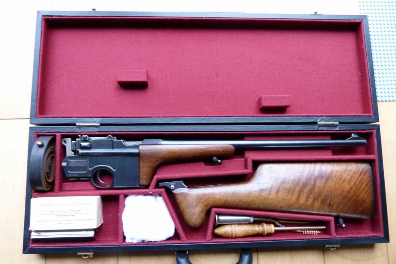 Une très rare carabine Mauser C 96... - Page 2 P1060210