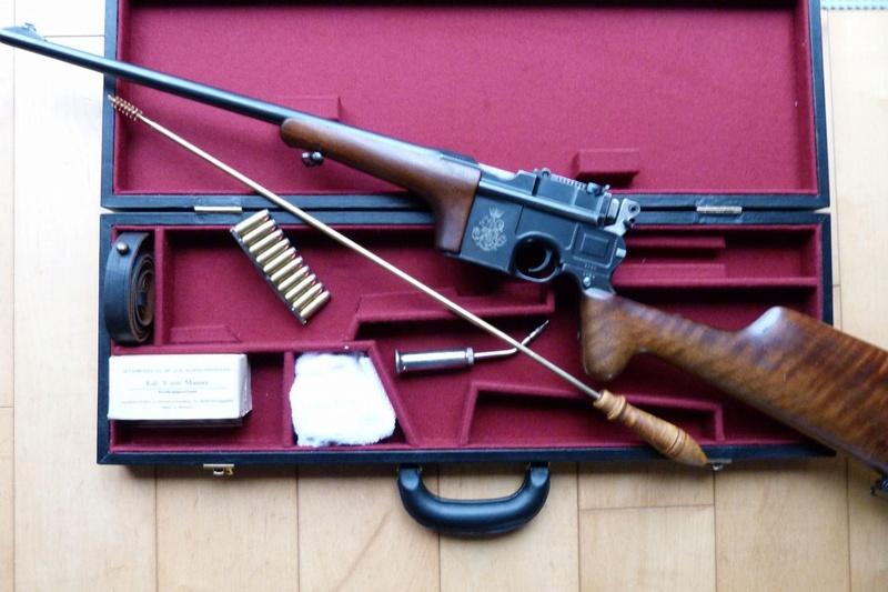 Une très rare carabine Mauser C 96... - Page 2 P1060211