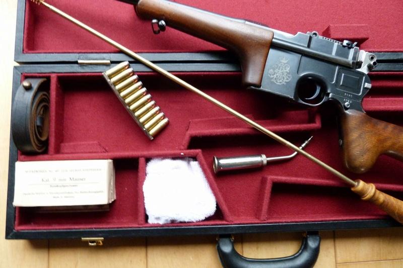 Une très rare carabine Mauser C 96... - Page 2 P1060212