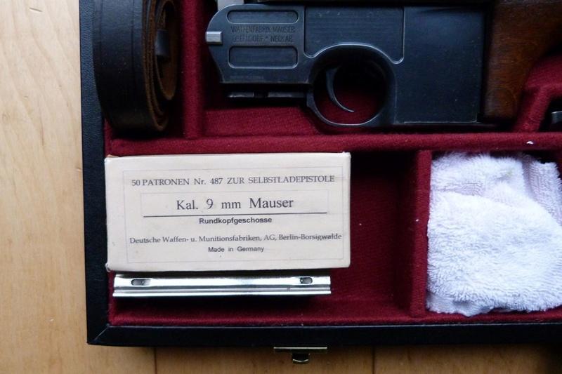Une très rare carabine Mauser C 96... - Page 2 P1060213