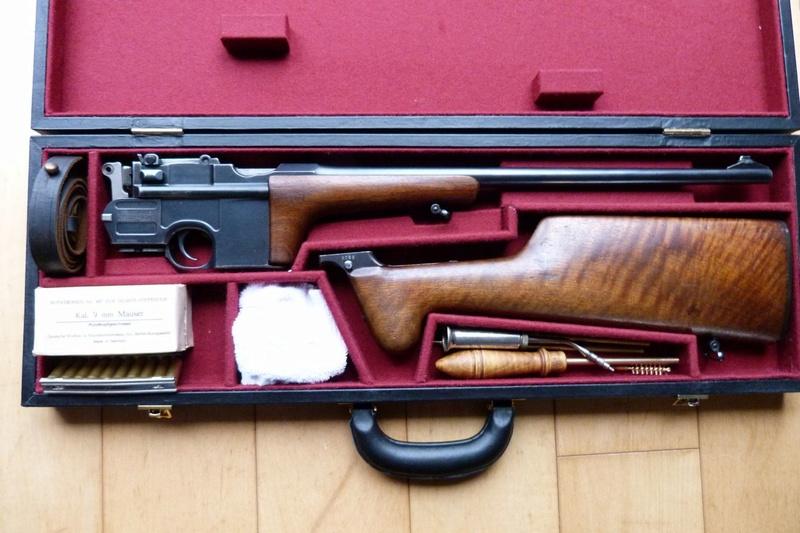 Une très rare carabine Mauser C 96... - Page 2 P1060216