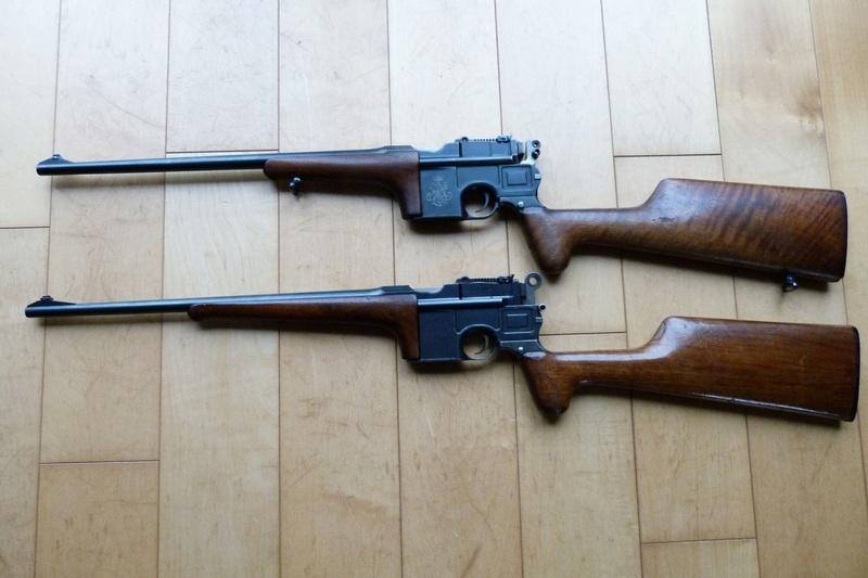 Une très rare carabine Mauser C 96... - Page 2 P1060217