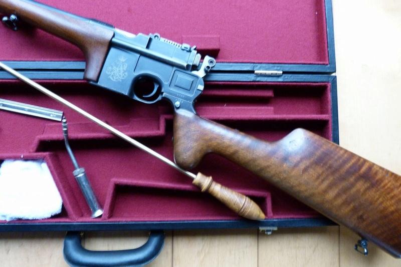 Une très rare carabine Mauser C 96... - Page 2 P1060310