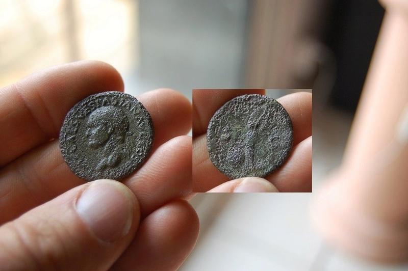 As ou Dupondius de Vespasien Vespas10