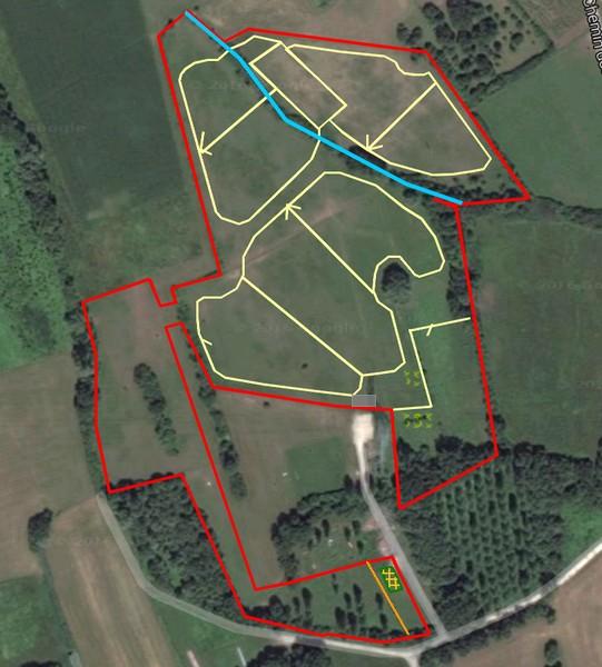 """Installation d'un """"paddock paradise"""" sur 6ha! Le PP vu du drone :) - Page 5 Pp210"""