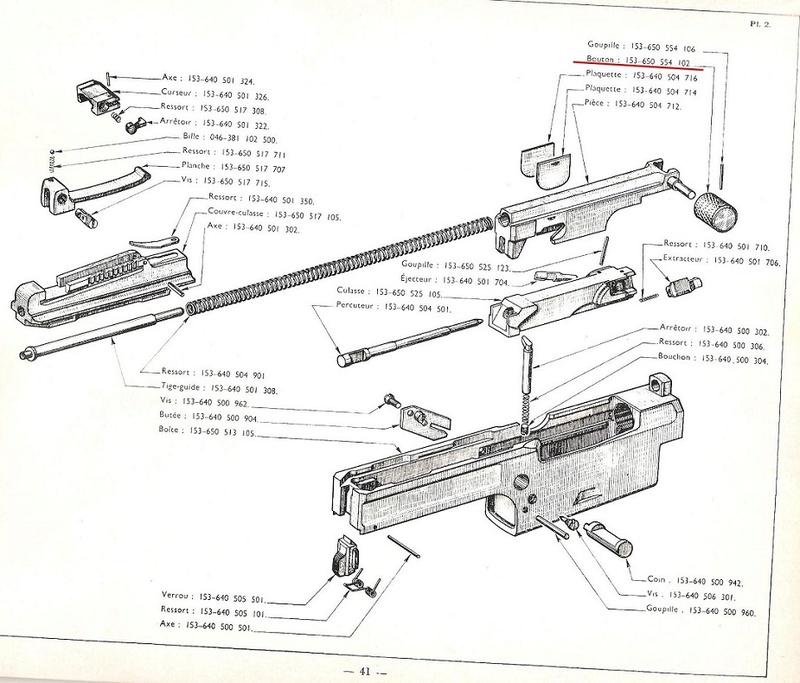 Leviers d'armement MAS 49 Mat_1110