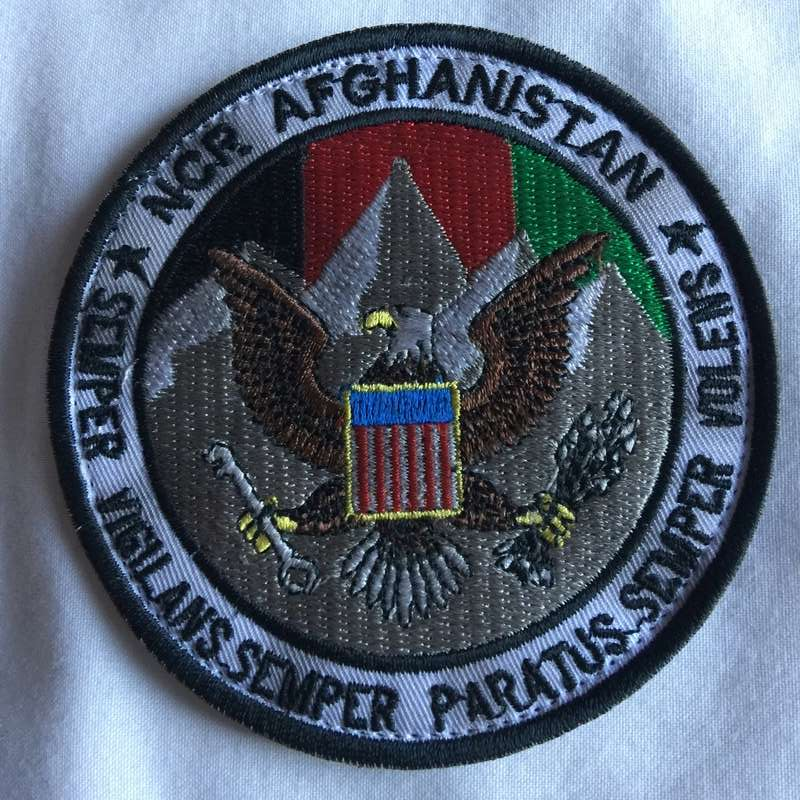NCR Afghanistan Patch Img_1810