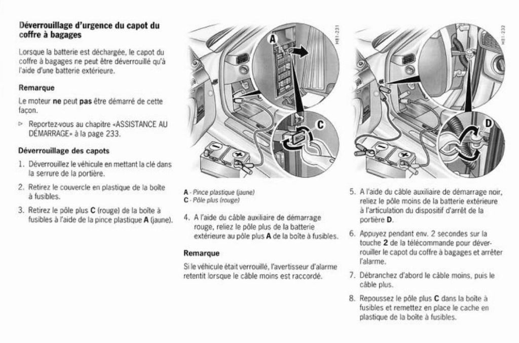 Déverrouillage du capot quand la batterie est HS - Page 3 Captur25