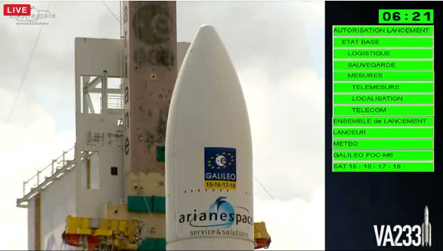 Lancement Ariane 5 ES VA233 / GALILEO (x4) - 17 novembre 2016 - Page 3 Va23310