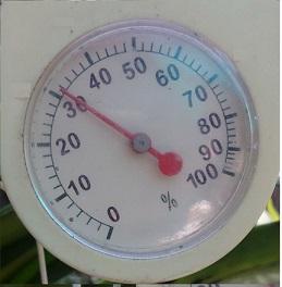 Humidity is going down - bit unusual in CMB Humidi10