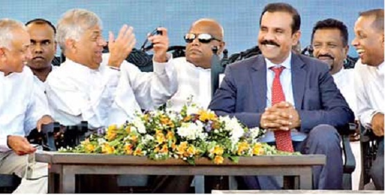 Mahinda's billions invested in Horana MARA-goni Tyre factory Ranil_10