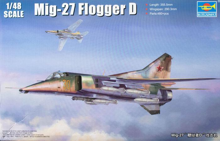 "MiG-27 ""Flogger-D""; Trumpeter 1/48 Tru_5810"