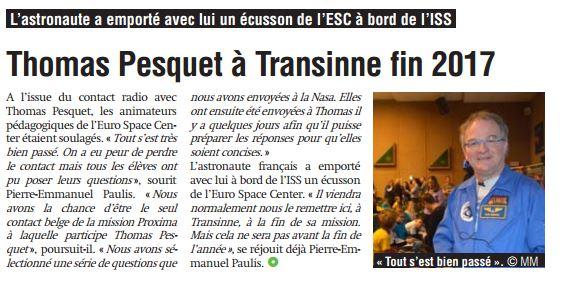 Thomas Pesquet à l'ESC Captur15