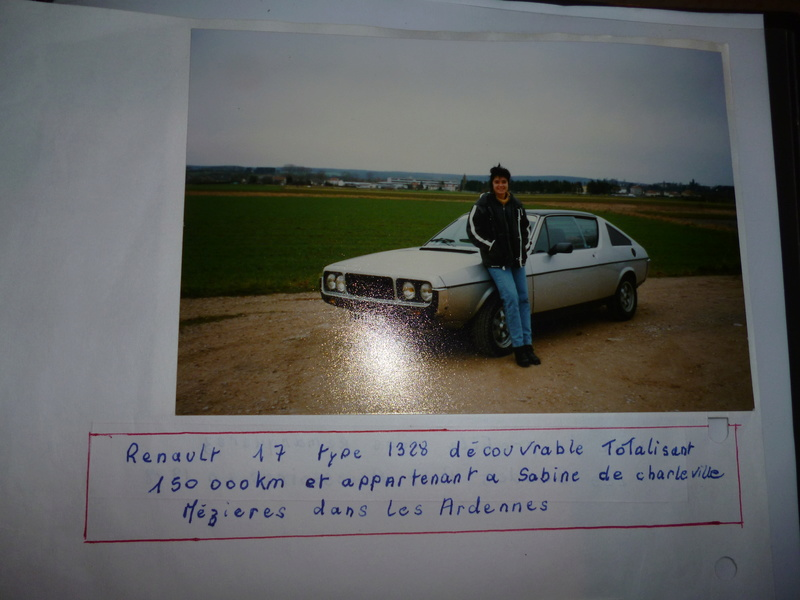 renault 17 decouvrable rouge lucifer  - Page 20 P1010216