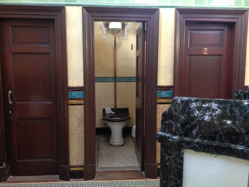 Victorian toilets on Isle of Bute. Img_0515