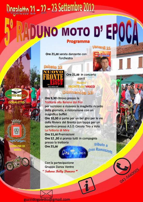 21-22-23 sett 25° Moto d'Epoca - Dogaletto (VE) Dogale10
