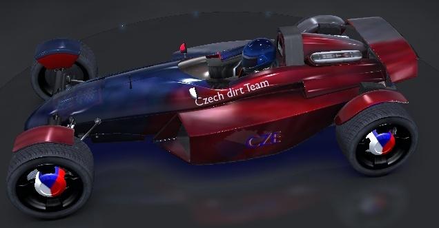 Car skin of Czech NDT  Czecar11