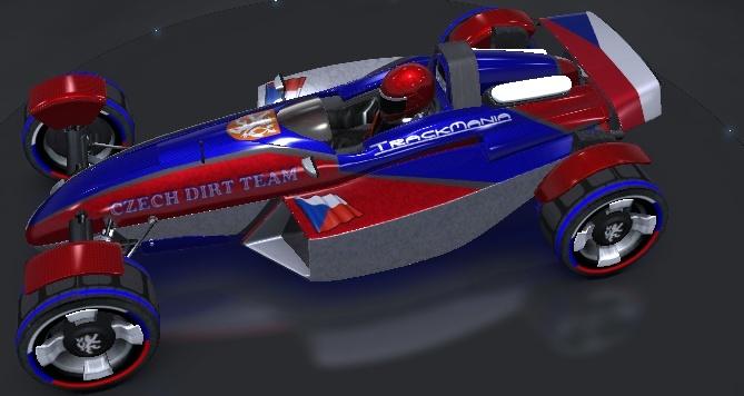 Car skin of Czech NDT  Czecar12