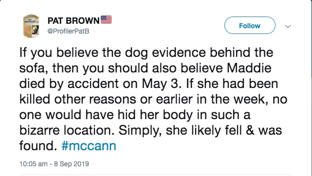 Madeleine McCann could not have died from an accident, nor from anything else, after 5.30pm on Thursday 3 May 2007 - Page 6 2314