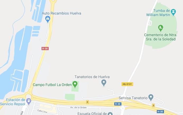 Disposal of the body Huelva10