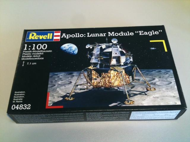 Apollo Eagle - Revell - 1:100 Foto10